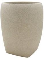 Nobrand No Brand Ivory Stone Wastebasket - Allure
