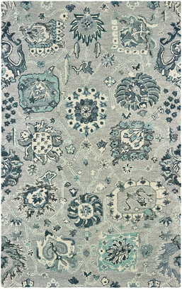 StyleHaven Zephyr Hand-Tufted Wool Traditional Rug