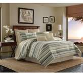 Tommy Bahama Home Canvas Stripe Queen Comforter Set