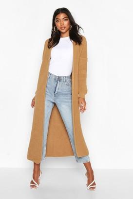 boohoo Tall Soft Knit Maxi Cardigan