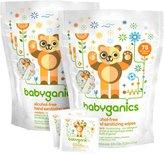 BabyGanics Alcohol Free Hand Sanitizer Wipes - On the Go