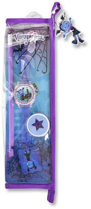 DISNEY PRINCESS Disney Vampirina Girls Purple Strap Watch-Vmp40003jc