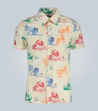 Gucci Disney x short-sleeved shirt