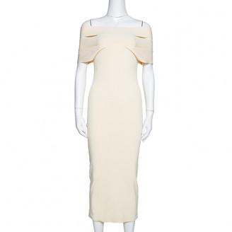 Self-Portrait Beige Cotton Dresses