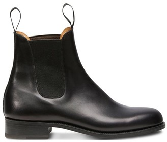 Jm Weston Cambre Box Calf Chelsea Boots