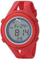 Puma Unisex PU911171002 Air III Red Digital Display Quartz Red Watch