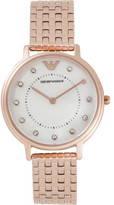 Emporio Armani Kappa Rose Gold-Tone Watch