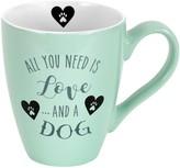 Enchante Love And A Dog Mug