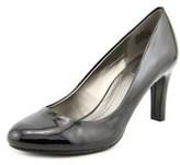 Bandolino Lantana Women W Round Toe Synthetic Black Heels.