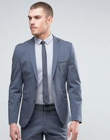 Selected Homme Slim Cotton Stretch Suit Jacket