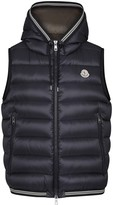 Moncler Amiens Navy Quilted Shell Gilet