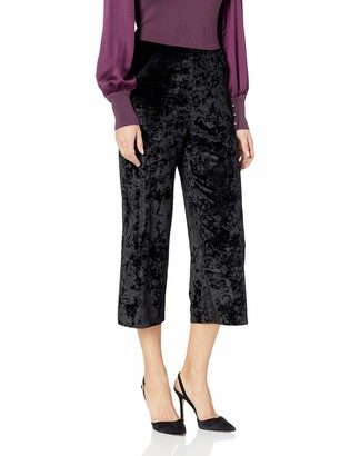 Lysse Women's Jerry Crushed Velvet Wide Leg Crop