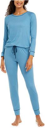 Alfani Printed Pajamas Set