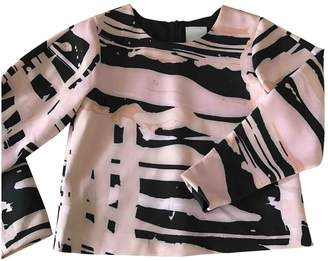 C/Meo Pink Polyester Tops