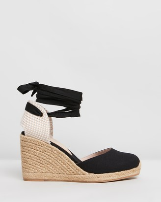 Aldo Muschetta Canvas Wedge Heels