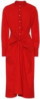 Proenza Schouler Cotton-blend midi dress