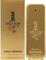 Paco Rabanne One Million by Edt Spray, 3.4-Ounce