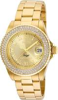 Invicta Women's Quartz Stainless Steel Casual Watch, Color:Gold-Toned (Model: 24614)