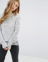 Pull&Bear Round Neck Rib Sweater