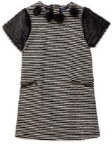 Andy & Evan Sequins Striped Sweater Dress (Toddler & Little Girls)