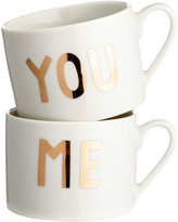 H&M 2-pack Porcelain Mugs