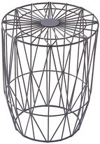Life Interiors Outdoor Coffee & Side Tables Studio Wire Side Table, Slate