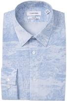 Calvin Klein Print Slim Fit Stretch Dress Shirt