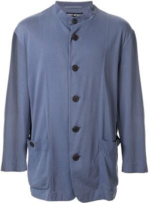Mandarin Collar Relaxed Jacket