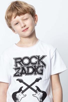 Zadig & Voltaire Kids Kita T-Shirt