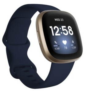 Fitbit Versa 3 Midnight Blue Strap Smart Watch 39mm