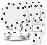 Kate Spade deco dot 12-piece dinnerware set