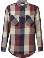 Julien David Flap Pocket Shirt - Red - Size M