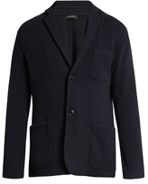Ermenegildo Zegna Single-breasted Wool And Cashmere-blend Jacket