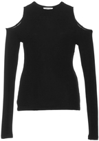 Getting Back To Square One Cutout Thumbhole Sweater
