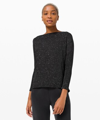 Lululemon Back In Action Long Sleeve *Splatter
