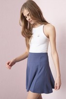Garage Panelled Skater Skirt