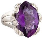Ring Amethyst & Diamond