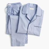 J.Crew Cotton poplin pajama set