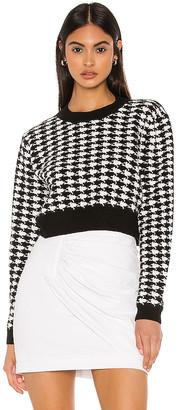 superdown Felicity Houndstooth Sweater