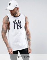 Majestic Yankees Longline Vest Exclusive To Asos