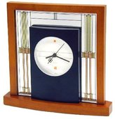 Bulova Frank Lloyd Wright Willits Contempo Table Clock - B7756