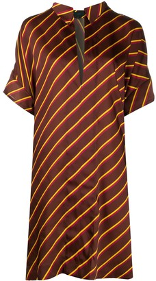 Jejia Striped Shirt Dress