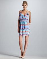 Ava Ruffled Camisole Dress