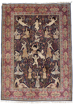 F.J. Kashanian Persian Hand-Knotted Rug