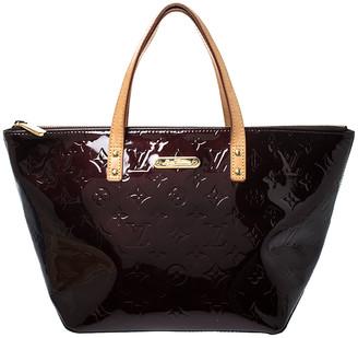 Louis Vuitton Amarante Monogram Vernis Bellevue PM Bag