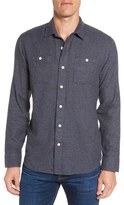 Grayers Lance Trim Fit Flannel Sport Shirt