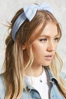 Forever 21 FOREVER 21+ Crepe Woven Bow Headwrap