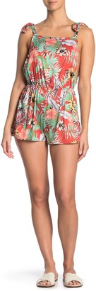 Oasis Tropical Cover-Up Romper