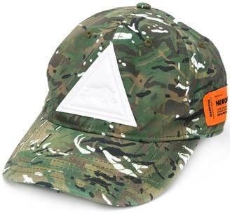Heron Preston Camouflage Baseball Cap