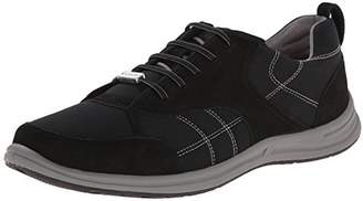 Rockport Women's XCS Walk Together Elastic Lace Up Black Nubuck